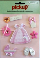 PU3094 Embellishments for Cards and Scrapbooking