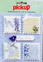 PU3020 Embellishments for Cards and Scrapbooking