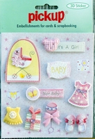 PU3095 Embellishments for Cards and Scrapbooking