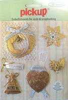 PU6089 Embellishments for Cards and Scrapbooking