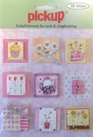 PU3023 Embellishments for Cards and Scrapbooking